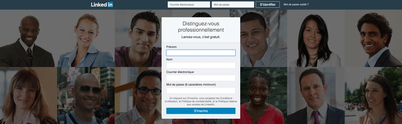 Le recrutement via LinkedIn.