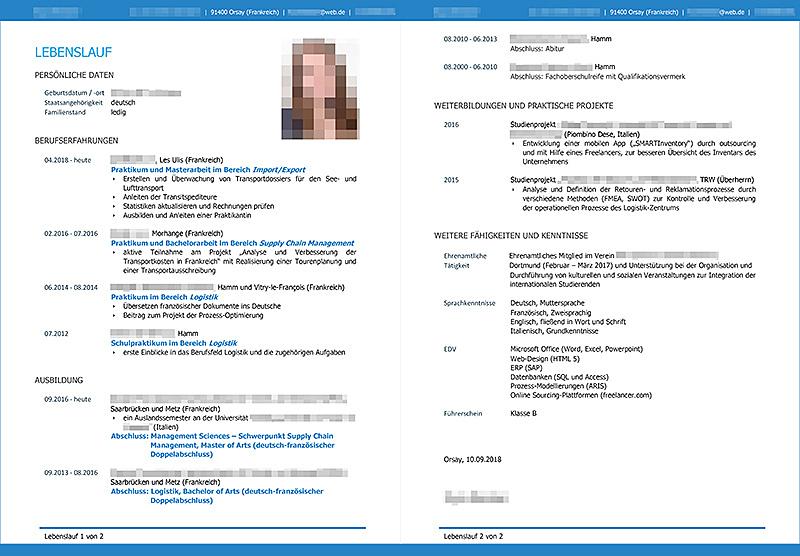le cv allemand en 2019   conseils sur la structure  la